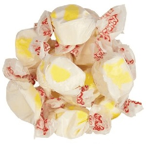 Egg Nog Salt Water Taffy - 20lbs
