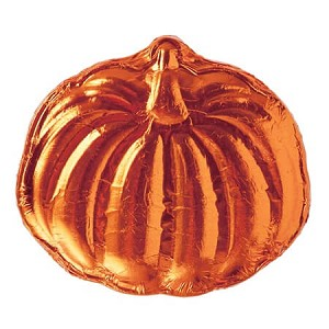 Foiled Milk Chocolate Pumpkin - 18ct
