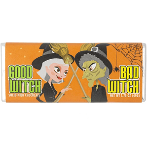 Good or Bad Witch Milk Chocolate Bar - 24ct