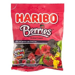 Gummy Berries Bags - 12ct