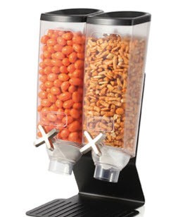 Slim Double Toppings Dispenser