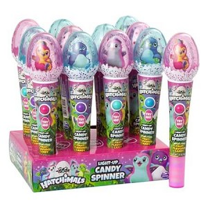 Hatchimals Light Up Spinner w/Candy - 12ct