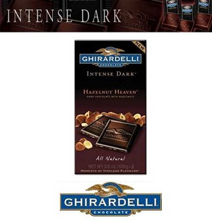 Ghirardelli Hazelnut Heaven Bars - 12ct