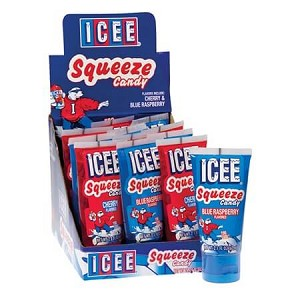 Icee Squeeze Candy - Assorted Flavors  - 12ct