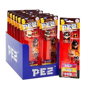 Incredibles 2 PEZ Blister Packs - 12ct