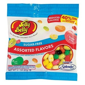 Jelly Belly Sugar-Free Assorted Bags - 12ct