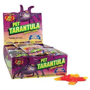 Jelly Belly Gummi Pet Tarantula - 24ct