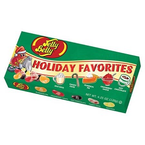 Jelly Belly Holiday 5 Flavor Gift Box - 12ct