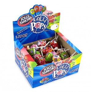Jolly Rancher Pops - 50ct