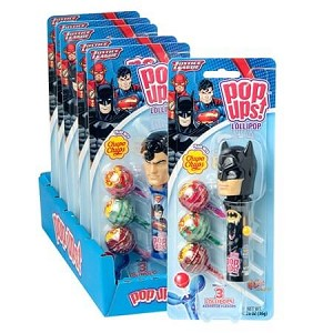 Justice League Pop Up Blister Packs - 6ct