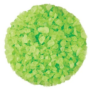 Light Green Rock Candy Crystals - 5lbs