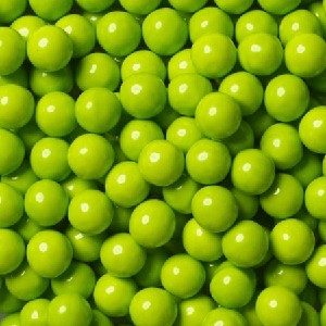 Single Color Sixlets - Lime Green - 12lbs