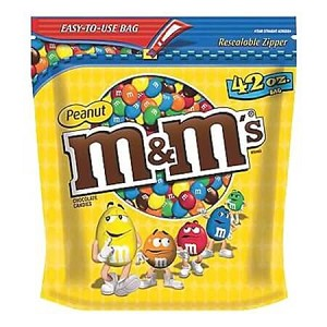 Peanut M&M Large Bag - 42oz