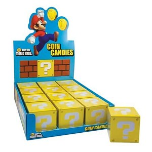 Mario Bros Coin Candy Tins  - 12ct