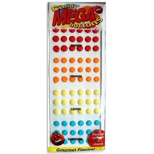 Mega Candy Buttons - 24ct