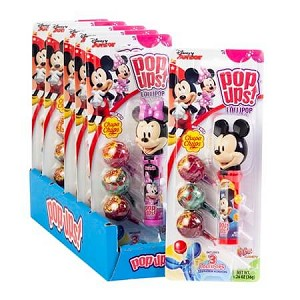 Mickey And Minnie Pop Up Blister Packs - 6ct