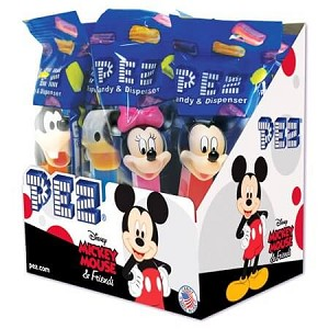 Disney Assorted Mickey Mouse PEZ Dispensers - 12ct