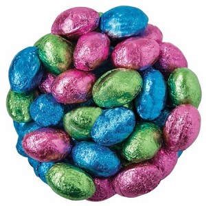 Milk Chocolate Foil Wrapped Eggs - 11lbs