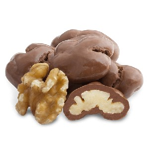 Milk Chocolate Walnuts - 20lbs