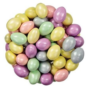 Pastel Sparkle Chocolate Almonds