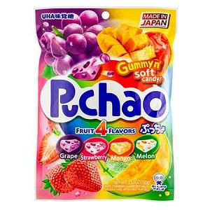 Puchao Mixed Fruit Peg Bags - 6ct