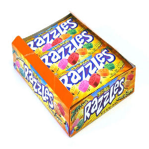 Razzles Tropical - 24ct