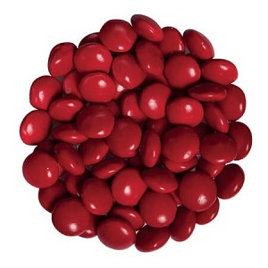 Red Chocolate Gems -15lbs