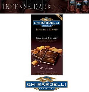 Ghirardelli Sea Salt Soiree Bars  - 12ct