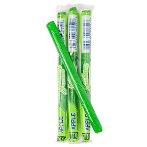 Sour Apple Old Fashioned Stick Candy - 80ct