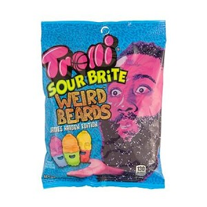Sour Brite Weird Beards Peg Bag - 12ct