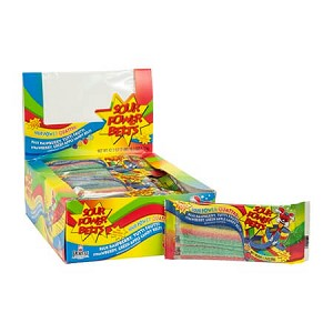Sour Power Quattro Belts - 24ct