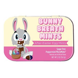 Sugar-Free Bunny Peppermint Tin - 18ct