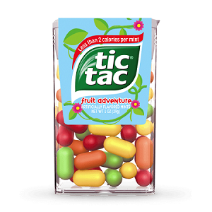 Tic Tac Fruit Adventure 1oz - 12ct