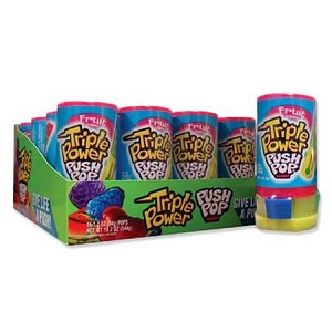 Push Pops Triple Power - 16ct