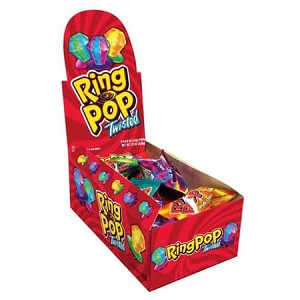 Twisted Ring Pops - 24ct