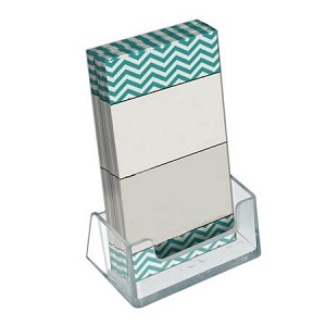 Vertical Business/Gift Card Holder - 10ct