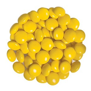 Yellow Chocolate Gems -15lbs