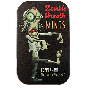 Zombie Breath Mints Tin - 18ct